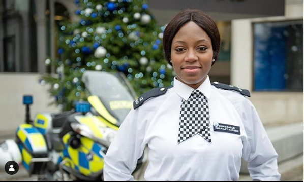 Khafi fabwoman - BBNaija housemate, Khafi to be sanctioned by Met Police for partaking in reality show