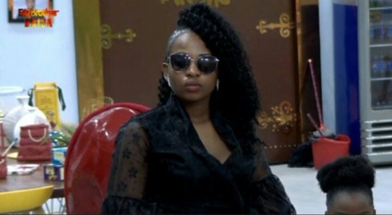 Cindy evicted - Cindy Has Been Evicted From The BBNaija House