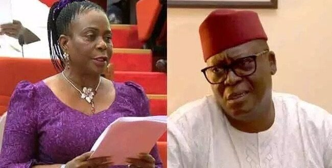 Ekiti tribunal sacks Dayo Adeyeye declares Senator Biodun Olujimi winner ekitireporters 650x330 - Tribunal Sacks Senate Spokesman, Adeyeye, Declares Olujimi Winner in Ekiti