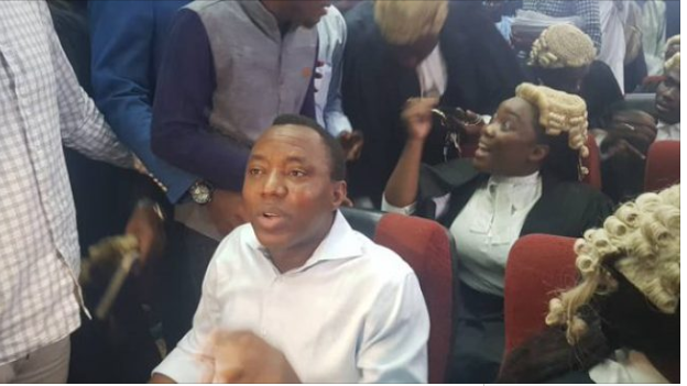 Sowore DSS - Breaking: Again Court grants Omoyele Sowore bail