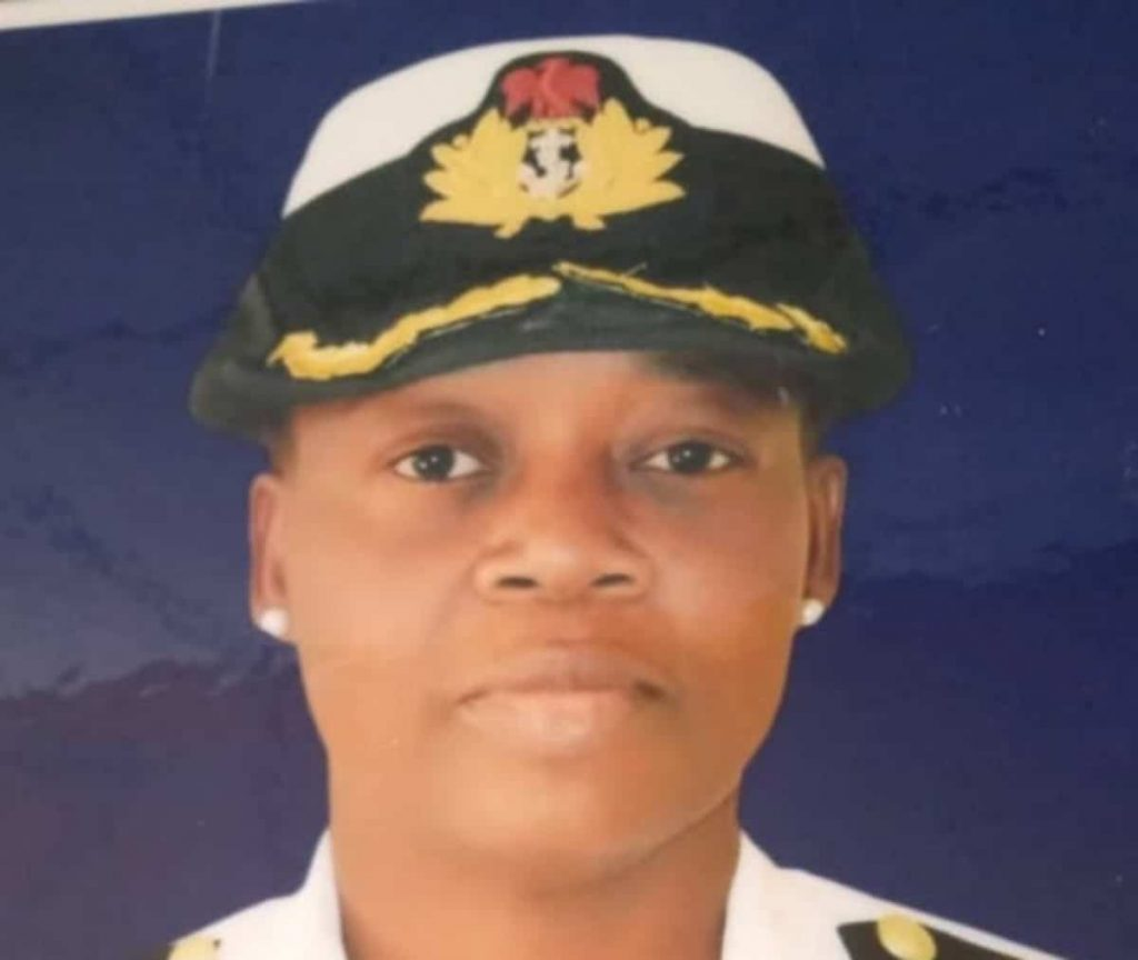 naval officer ogundana 1024x864 - [PHOTO] Missing senior Naval officer found dead in a well in Kaduna