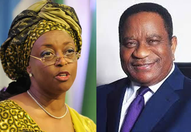 Diezani and husband former chief of naval staff Rear Admiral Alison Madueke - I told my wife to maintain the family's good name when she took ministerial appointment -Diezani's husband
