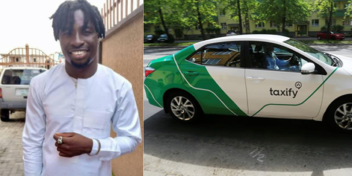 taxify driver shot dead and his car stolen in lagos - [PHOTO] Taxify driver brutally murdered and his car stolen in Lagos