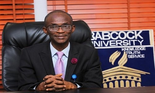 Prof Ademola S Tay - Sex Video: Why we expelled female student – Babcock VC