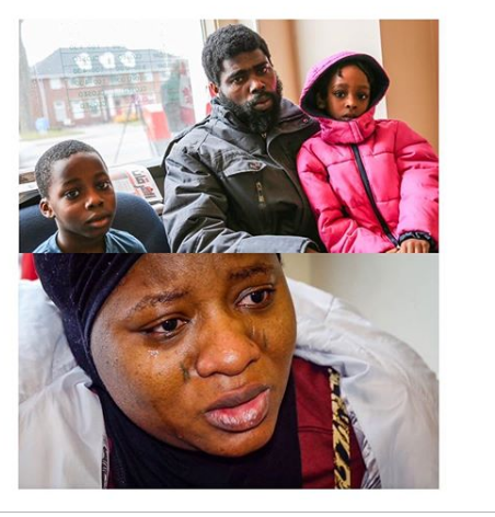 ncanada to deport nigerian family - [PHOTO] Nigerian family face deportation from Canada